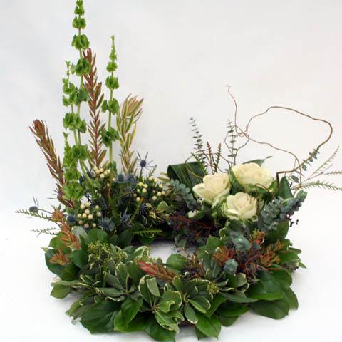 how to make urn flower arrangements