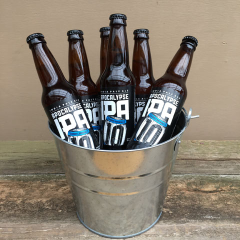 Ten Barrel Apocalypse IPA Beer Bucket