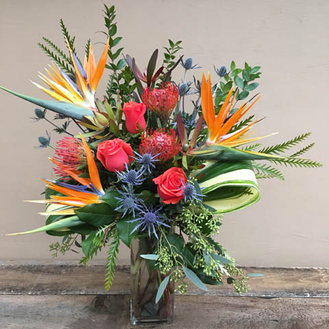 Tropical Romance Flower Bouquet