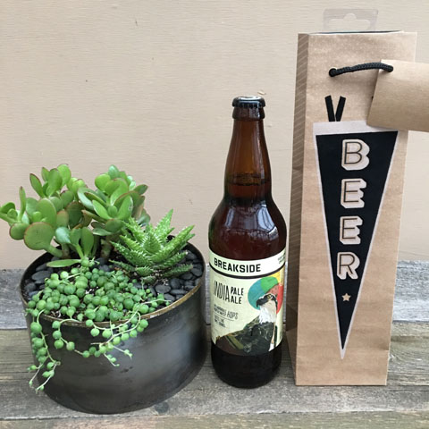 Norman Succulent Garden and Breakside IPA