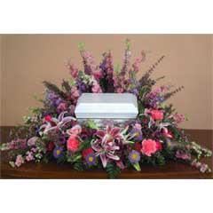 Spring Mix Flower Urn Centerpiece