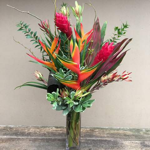Hayden Island Tropical Flower Bouquet