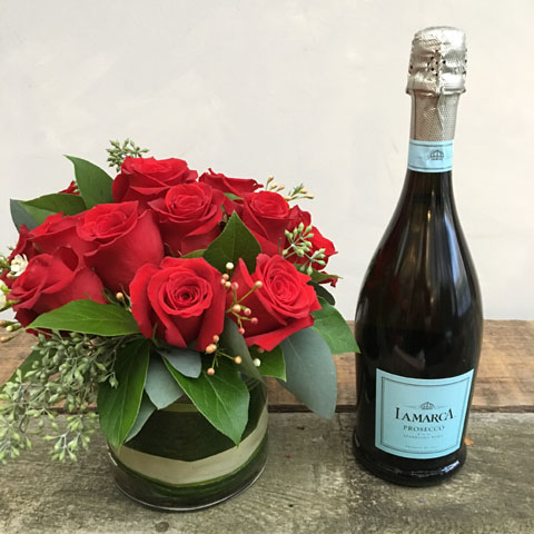 LaMarca Prosecco and Roses