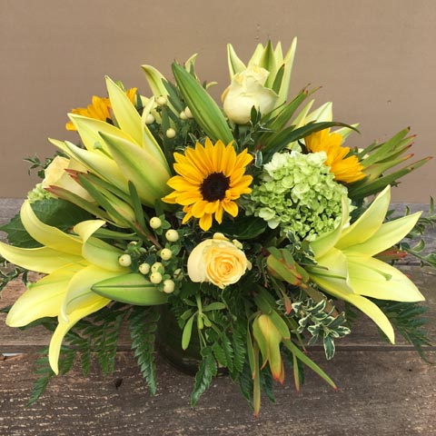 Dunthorpe Fall Flower Bouquet