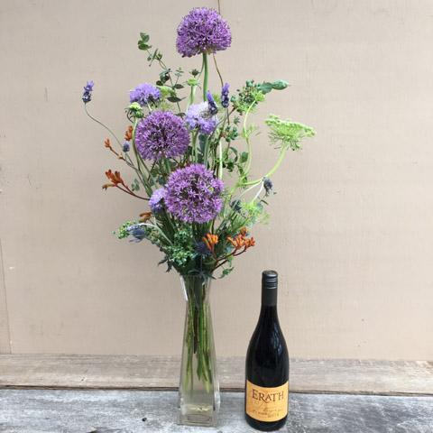 Pinot Noir & Flowers