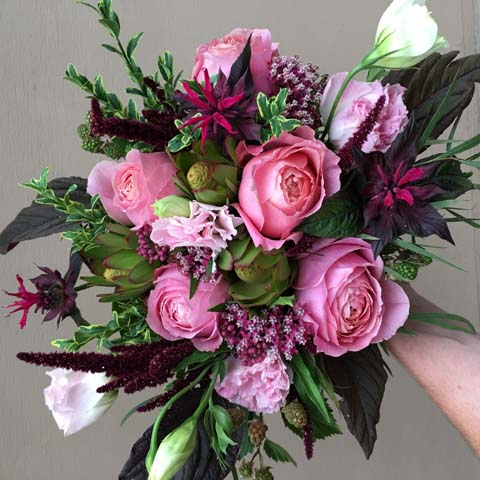 Romantic Antike Bridal Bouquet